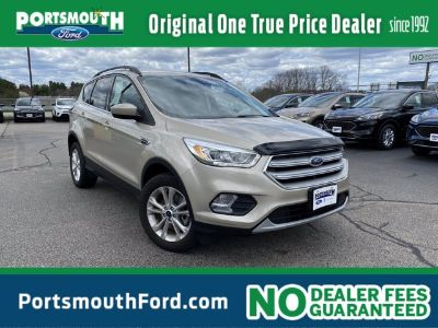 2018 Ford Escape SEL (White Gold Metallic)