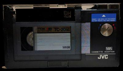 JVC VHS Motorized Cassette Adapter C-P3U