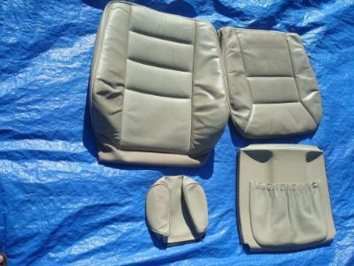 Sell 91-95 Mercedes W124 E-class 320 Driver Left Side Mushroom Leather Seat Covers motorcycle in Sacramento, California, United States, for US $220.00