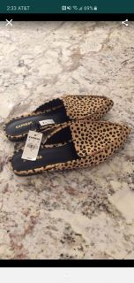Express Cheetah Loafers NWT
