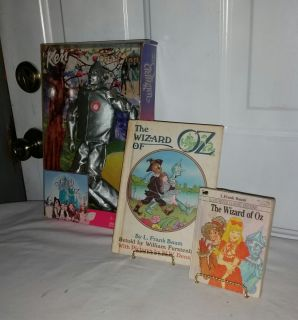 To Man never opened. Wizard of Oz Little Big Book, Wizard of Oz great book Copyright 1984. All for $12
