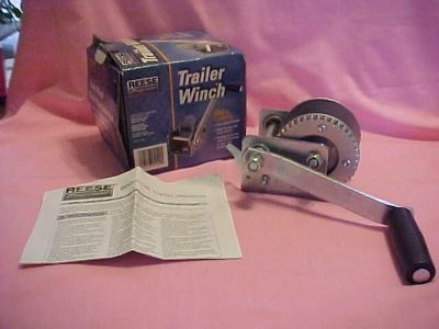 Buy New Reese Towpower 600 lb Boat Trailer Winch #74337L1 motorcycle in Cambridge, Maryland, US, for US $19.99
