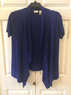 Light and Comfortable Royal Blue Coverup Ladies Size Large