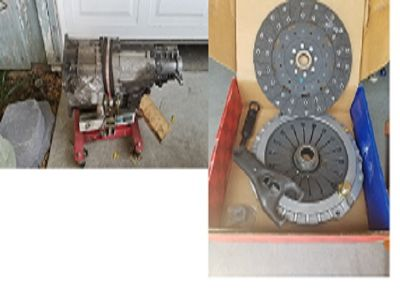 Corvette 6-Speed and Clutch Assy. and New Fork