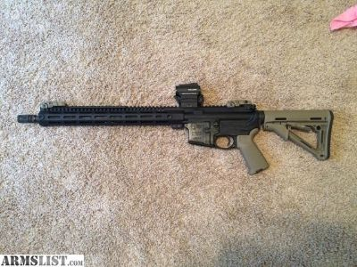 For Sale/Trade: COLT LE6920 W/HOLOSUN/MAGPUL/MIDWEST