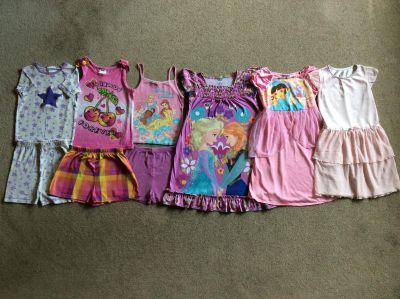 Girls size 5/6 summer pajamas/nightgowns $10 for all Omro/west side Oshkosh