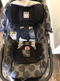Peg perego car seat with a base