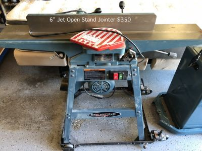 """Jet 6"""" Jointer Woodworking Tools"""