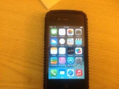IPhone 4 with Rubber case