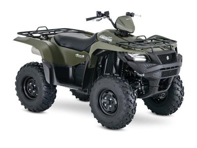 2016 Suzuki KingQuad 500AXi Power Steering Utility ATVs Phillipston, MA
