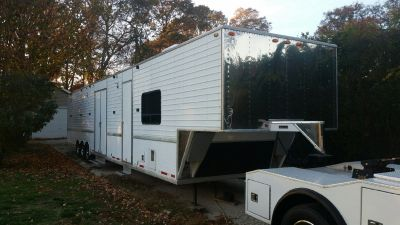 PACKAGE DEAL! Truck & Trailer with Living Quarters!