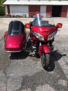 2004 Honda Gold Wing w/California Side Car Touring Motorcycles Herculaneum, MO