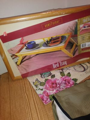 New Wooden Bed Tray