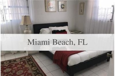Miami Beach - Nicely furnished 2 bedroom 2 bath unit. Gated parking!