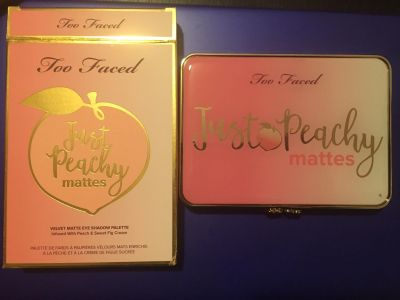 New- too faced just peachy mattes