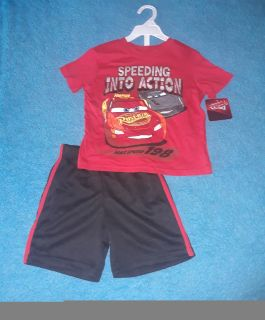 NEW WITH TAGS, 2pc set size 4T cars theme SERIOUS BUYERS ONLY