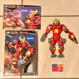 Mega Blok Transformering Blok Bot in Box EUC