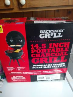 NIB 14.5 Backyard Portable Grill