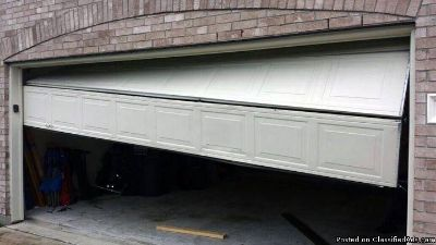 We Repair Any Garage Door..Free Estimate Today