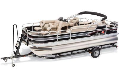 2015 Sun Tracker Fishin' Barge 20 DLX Pontoons Boats Gaylord, MI