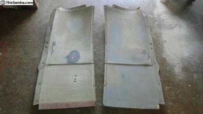 VW bus Rear Quarter Interior Cover metal panel