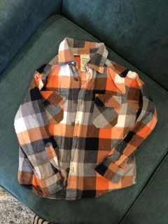 Boys faded glory flannel. Size 4-5