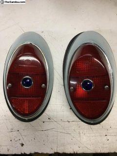 63-67 Beetle tail light pair