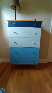Painted/Stained Ikea TARVA 5 Drawer Chest