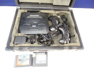 Vintage Sega Genesis Travel Set
