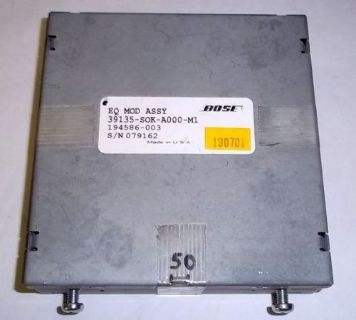 Sell 99 00 01 02 03 ACURA TL - BOSE EQ EQUALIZER MODULE, OEM motorcycle in Buford, Georgia, United States, for US $19.99