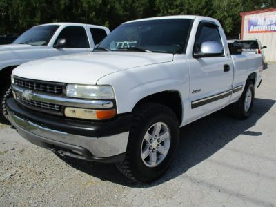 1999 Chevrolet Silverado 1500 Base (White)