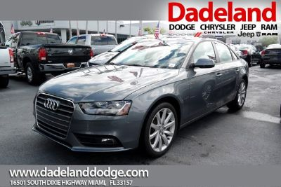 2013 Audi A4 2.0T Premium (Monsoon Gray Metallic)