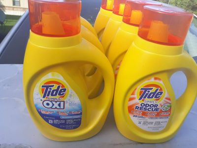 SIMPLY TIDE LIQUID 6for 20.00