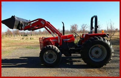 2006 Massey-Ferguson MF481-4 Tractor with Many Extras