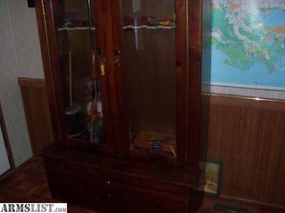 For Sale: gun cabinet