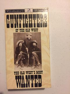 Gun fighters of the old West vhs movies