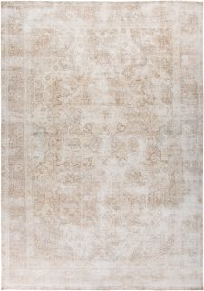 "Vintage, Hand Knotted Area Rug - 8' 7"" x 12' 0"""