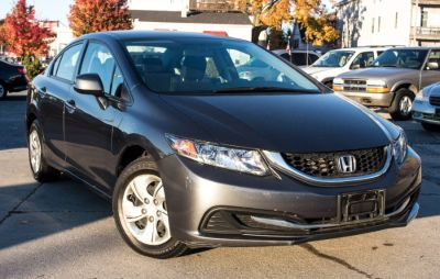 2013 Honda Civic LX (Polished Metal Metallic)
