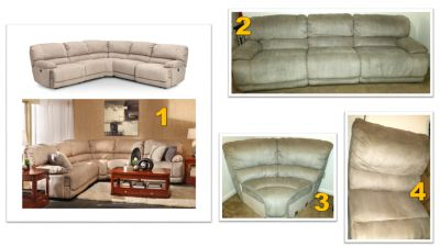 FR Power Reclining Sectional
