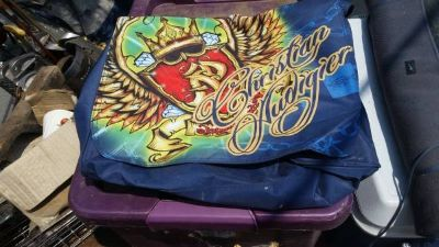 Christian Audigier Plastic Tote Bag