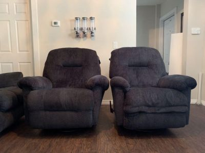 Like New With Tags Swivel Recliner