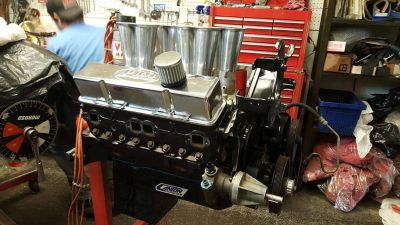 388 alcohol injected engine
