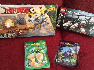 LEGO kits - all 4 brand new in box