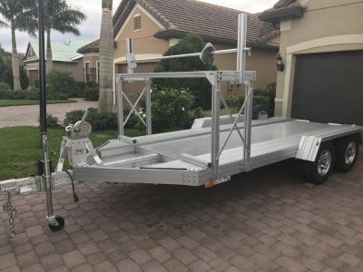 Trailex 8045 Open Car Trailer