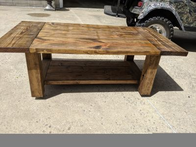 Very heavy coffee table or TV stand