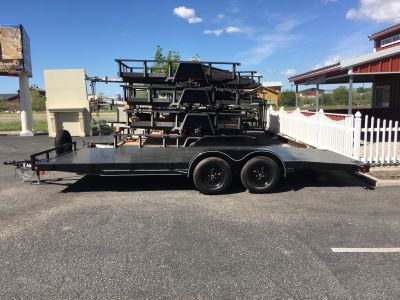 "2019 MAXXD TRAILERS 20' X 83"" CHANNEL CAR HAULER Trailer Paso Robles, CA"