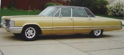 1968 Chrysler Imperial LeBaron 4 Door Hardtop