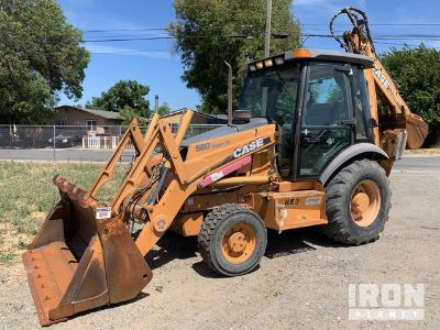 Case 580 Super M 4x4 Backhoe Loader