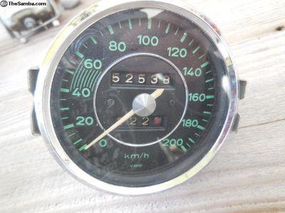 Porsche 356 Original VDO EURO Speedometer