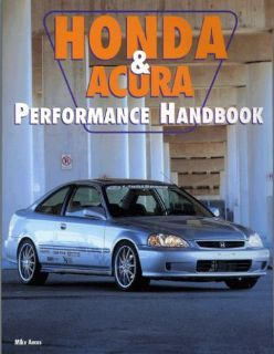 Buy Honda Performance book covers Accord Civic CRX Si Del Sol VTEC -BRAND NEW COPIES motorcycle in New Kensington, Pennsylvania, United States, for US $4.95